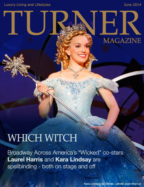 Actress Singer Kara Lindsay as Glinda in Wicked