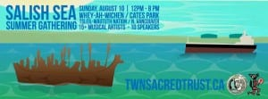 Salish Sea Summer Gathering at Cates Park North Vancouver