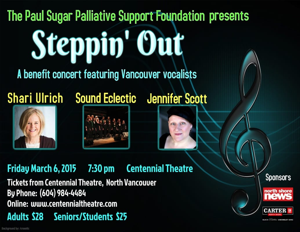 Paul Sugar Palliative Support Foundation presents Steppin' Out at the Centennial Theatre