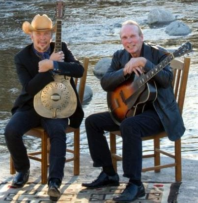 Dave Alvin and Phil Alvin with The Guilty Ones at the BlueShore Financial Centre North Vancouver