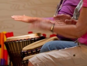 North Shore Community Drum Circle at the Lynn Valley United Church North Vancouver