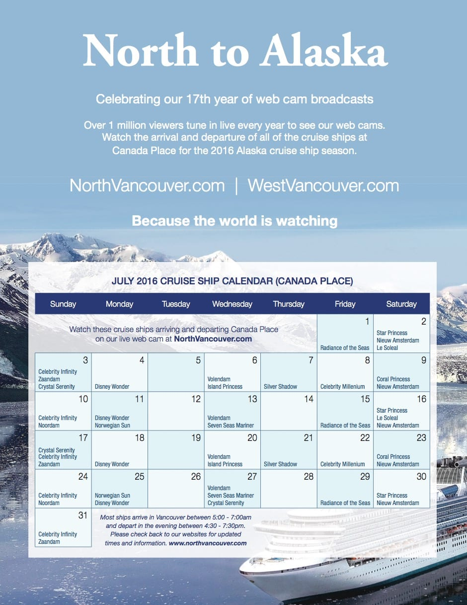 21 Excellent Vancouver Cruise Ship Schedule Fitbudha Com