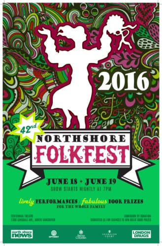 42nd Annual Folkfest at Centennial Theatre North Vancouver