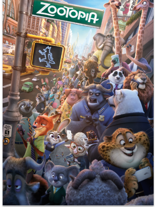 Family Movie Nights in The Plaza North Vancouver – Zootopia