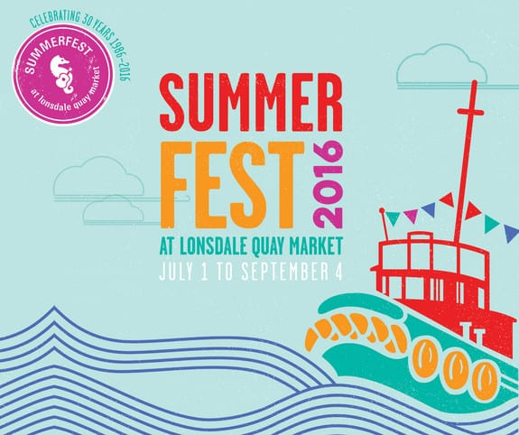 SummerFest 2016 at the Lonsdale Quay Market North Vancouver