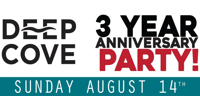Deep Cove Brewers and Distillers Anniversary Party