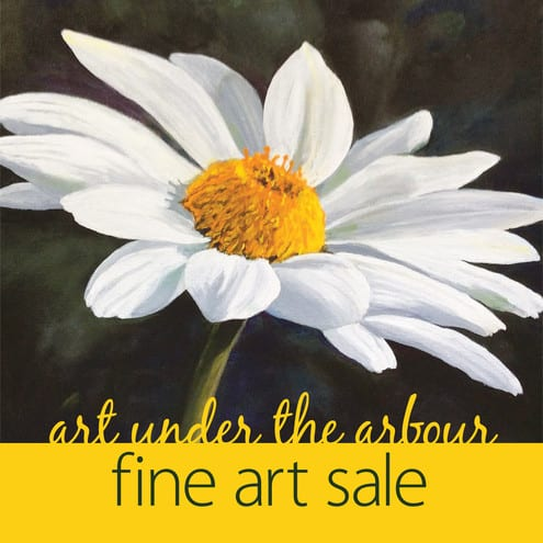 Art Under the Arbor Show and Sale at Park and Tilford Gardens North Vancouver