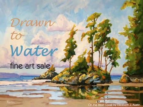 "NSAG Brushstrokes Gallery Opening Reception – ""Drawn to Water"" Artist Talk by Elizabeth J. Austin"