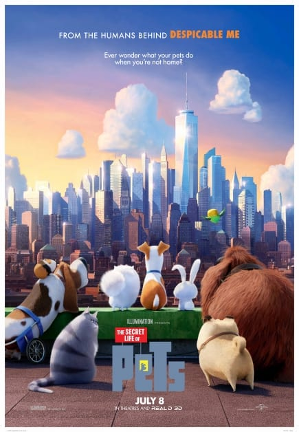 Outdoor Movie Night: Secret Life of Pets at the Lynn Valley Village Plaza