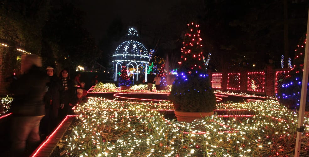 Park and Tilford Gardens Hi-Light Festival North Vancouver