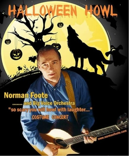 Norman Foote – Halloween Howl at the Centennial Theatre North Vancouver