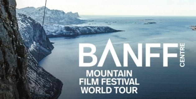 41st Annual Banff Mountain Film Festival World Tour at the Centennial Theatre North Vancouver