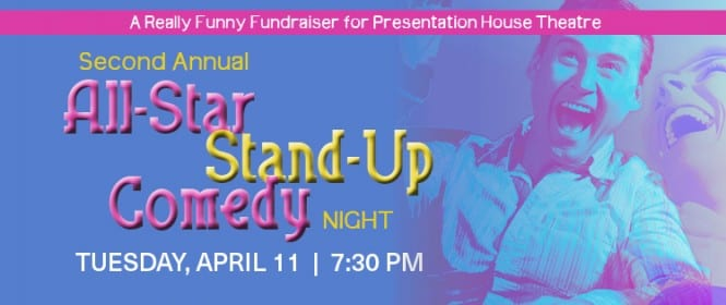 All-Star Stand-Up Comedy Night! at the Presentation House Theatre North Vancouver