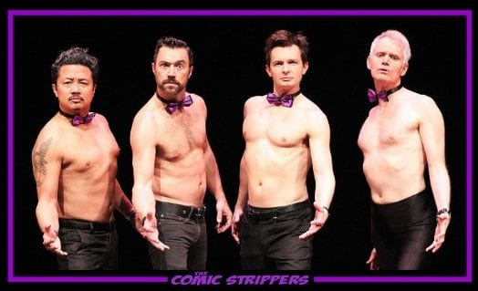 The Comic Strippers a Parody and Improv Comedy Show at the Centennial Theatre North Vancouver 19+ ONLY!
