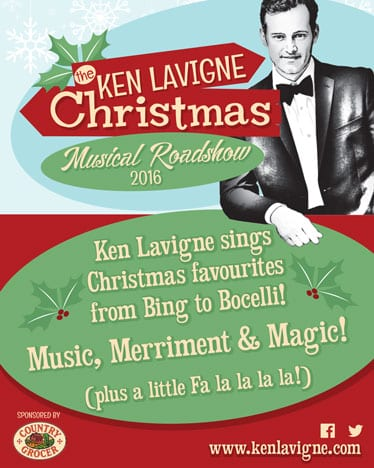 An Old Time Radio Show Christmas Concert With Ken Lavigne at the Centennial Theatre