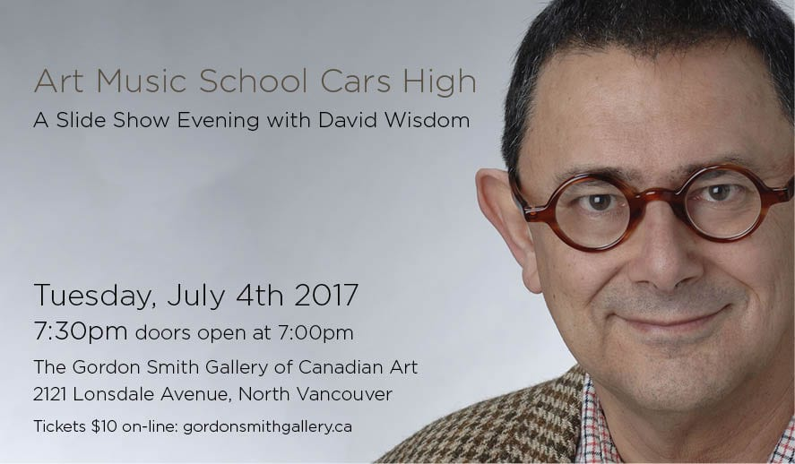 A Slide Show Evening with David Wisdom at The Gordon Smith Gallery of Canadian Art