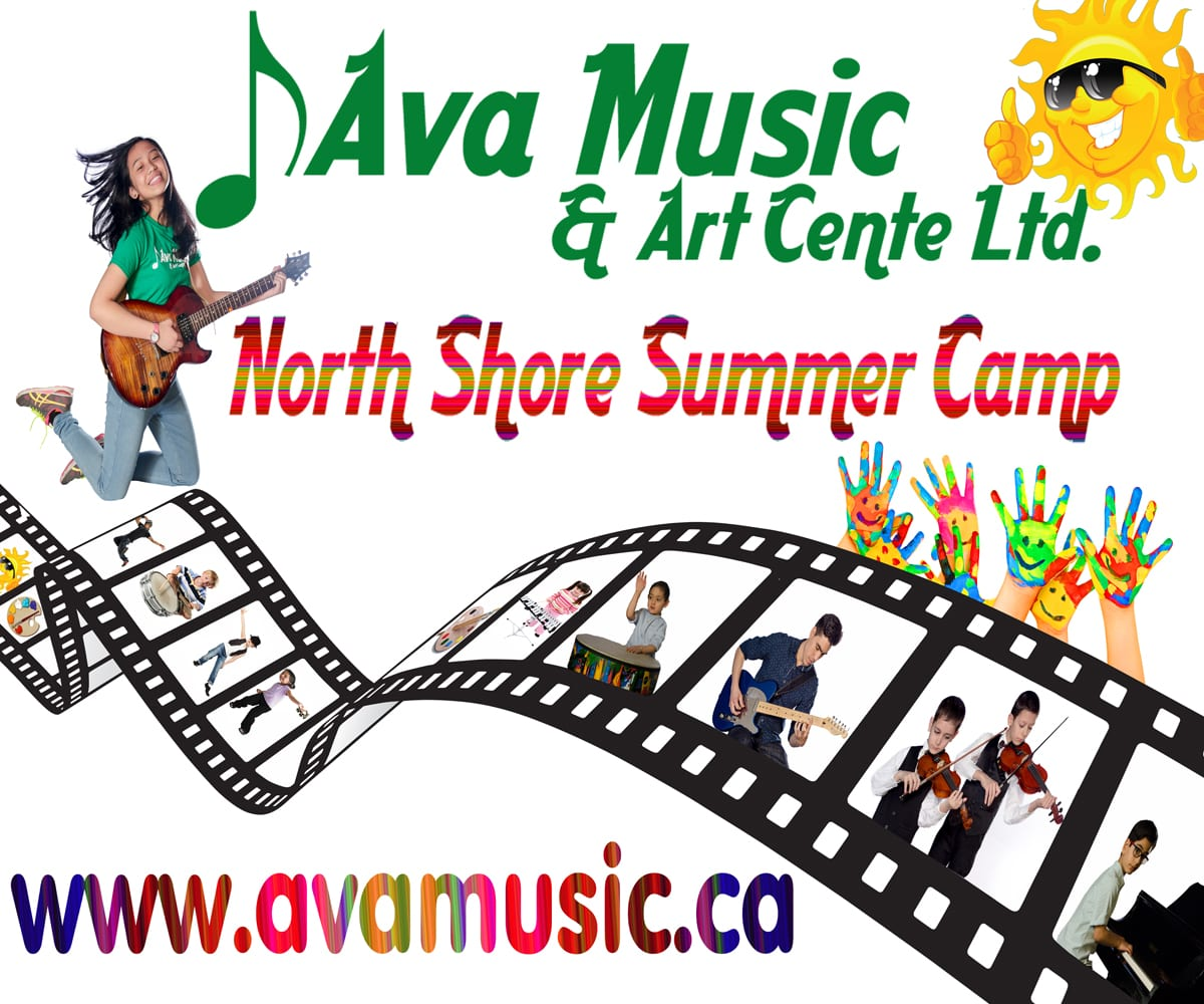 Music, Dance, Art and Film Summer Camp at Ava Music North Vancouver