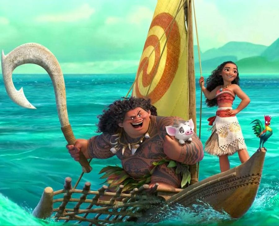 Family Movie Night at the Civic Plaza North Vancouver – Moana