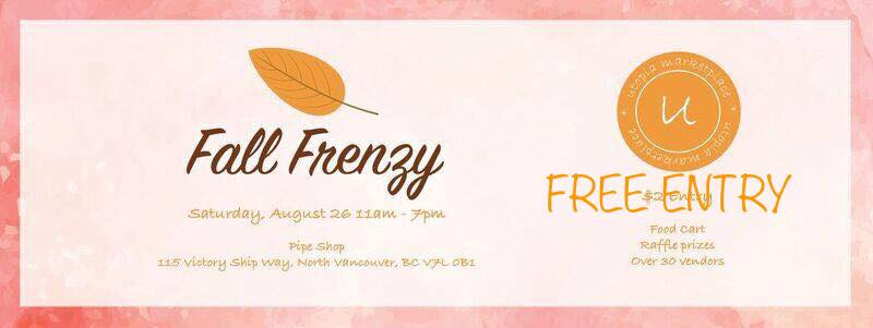 Fall Frenzy Market at The Shipyards North Vancouver
