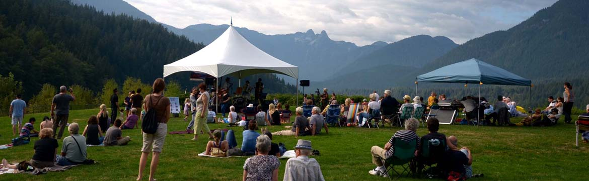 Music in the Park 2017 at the Capilano River Regional Park