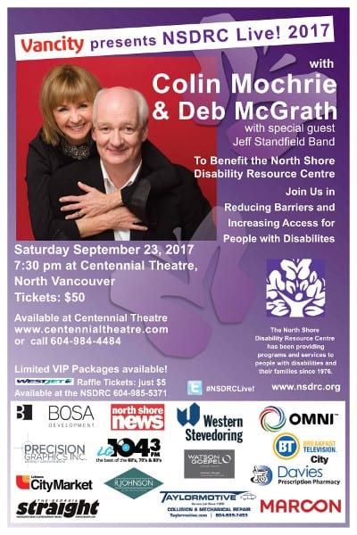 An Evening with Colin Mochrie & Deb McGrath at the Centennial Theatre North Vancouver