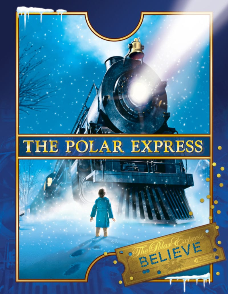 Polar Express Train Ride at the West Coast Railway Heritage Park Squamish