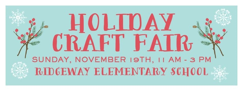 Ridgeway Holiday Craft Fair North Vancouver