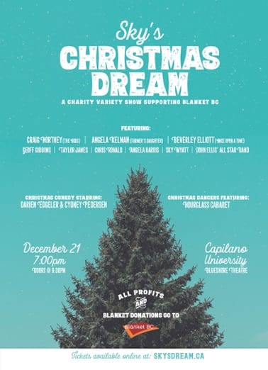Sky's Christmas Dream Capilano University Theatre North Vancouver
