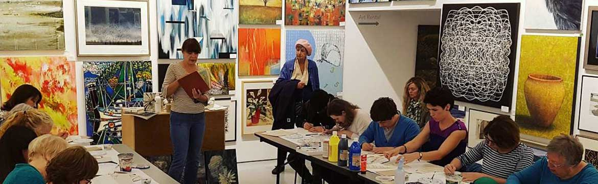 CreativeScape:  Art-Inspired Poetry at the Cityscape Community Art Space North vancouver