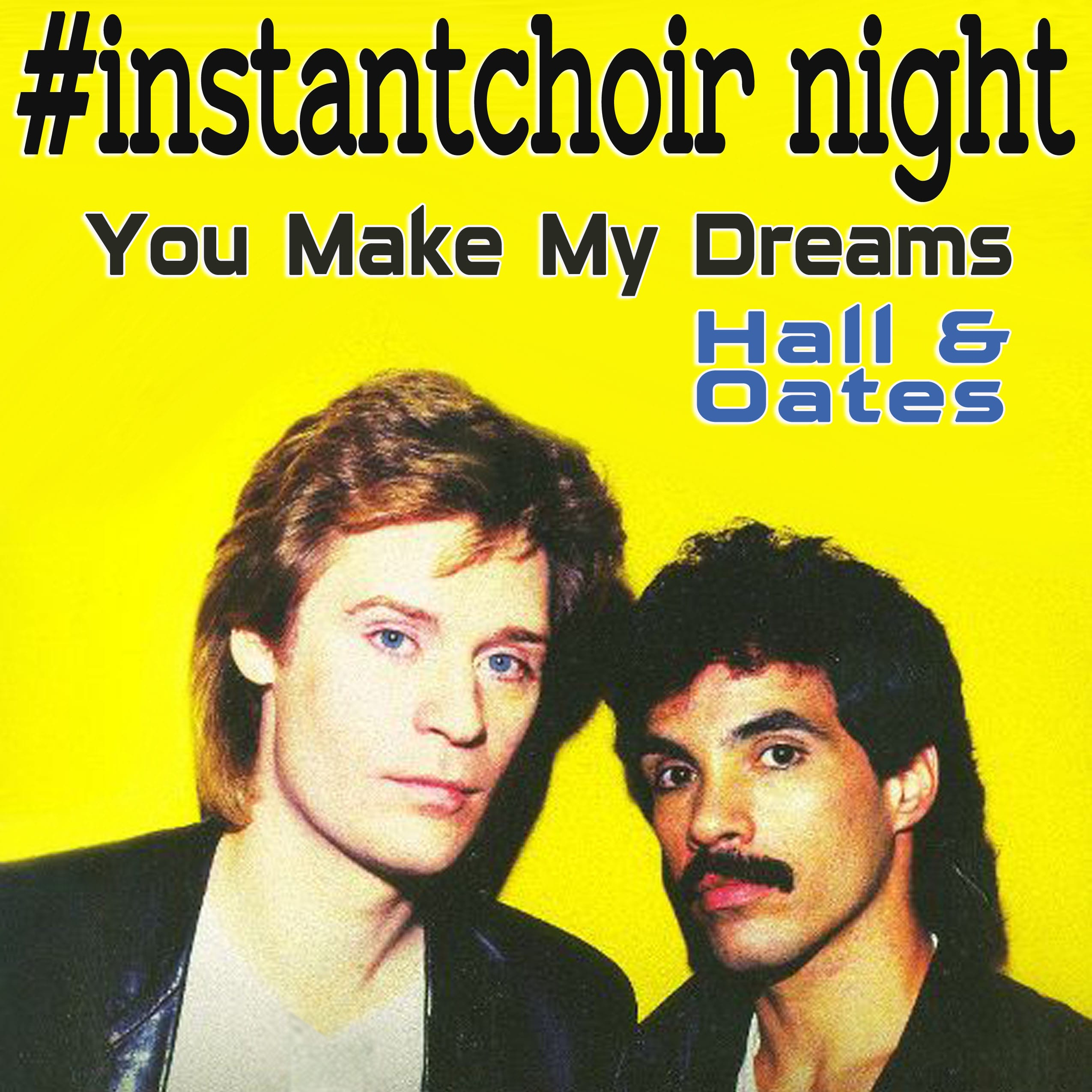 Sing… You Make My Dreams by Hall & Oates at an #InstantChoir in North Van!