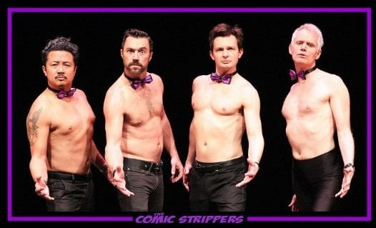 The Comic Strippers at the Centennial Theatre North Vancouver 19+ ONLY!