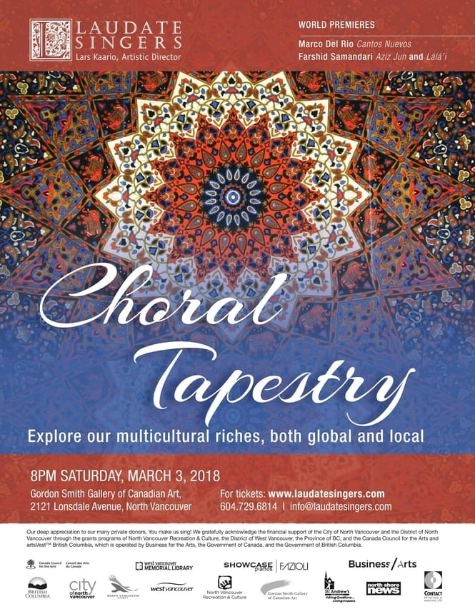 Choral Tapestry – Weaving the World Together in Song at the Gordon Smith Gallery of Canadian Art