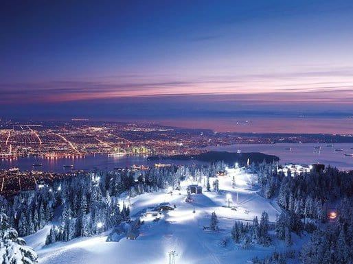 24 Hrs of Winter on Grouse Mountain North Vancouver
