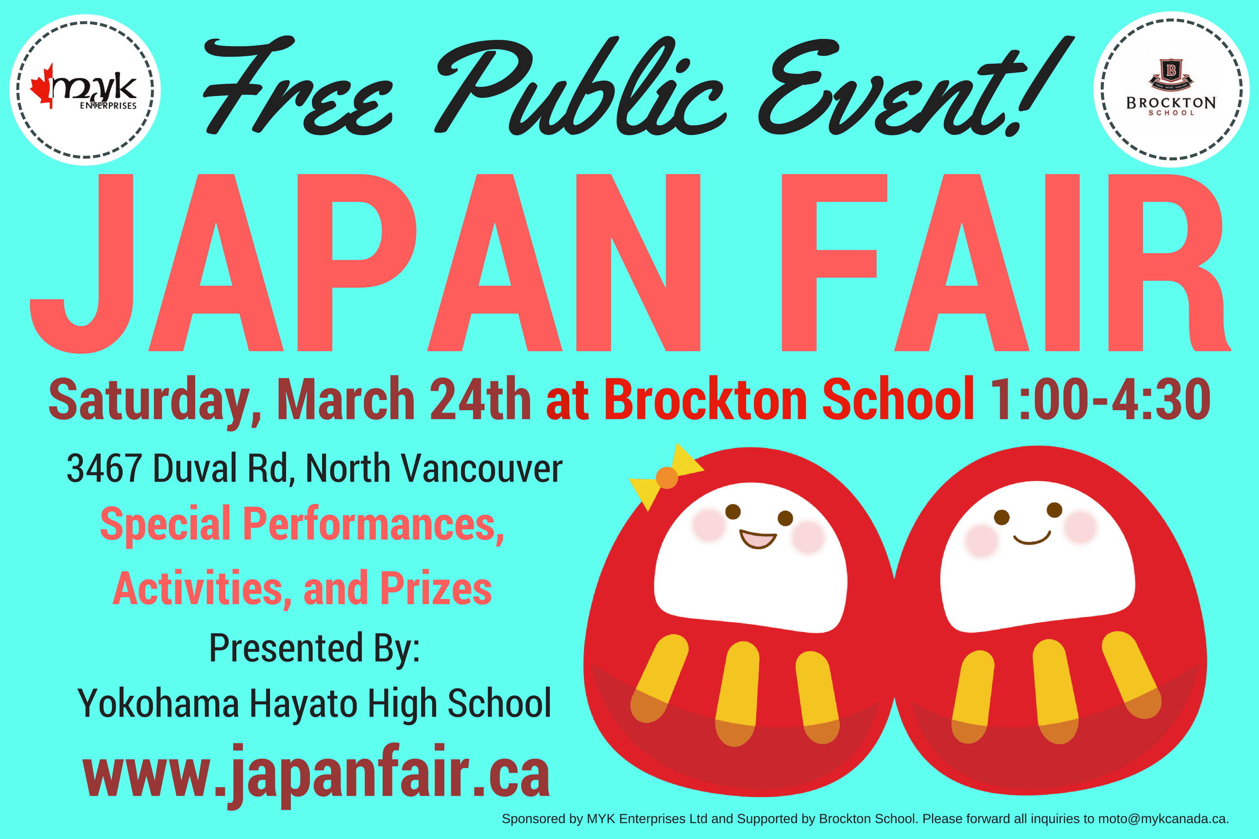 Japan Fair at Brockton School North Vancouver