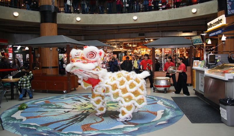 Lunar New Year 2018 Celebration at the Lonsdale Quay North Vancouver