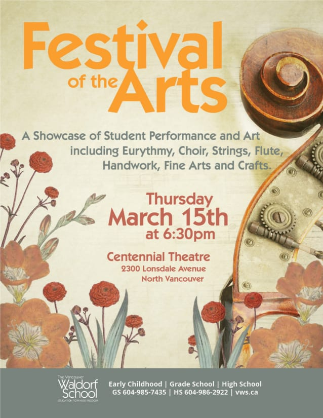 Spring Festival of the Arts at the Centennial Theatre North Vancouver