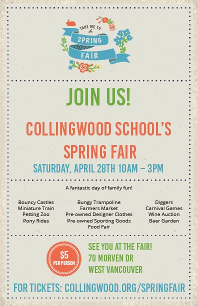 Collingwood School Spring Fair