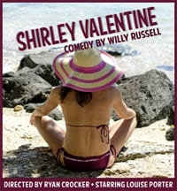 Shirley Valentine a British Comedy at the Deep Cove Shaw Theatre North Vancouver