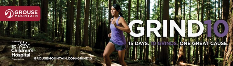 Grind 10 – 2018 at Grouse Mountain North Vancouver
