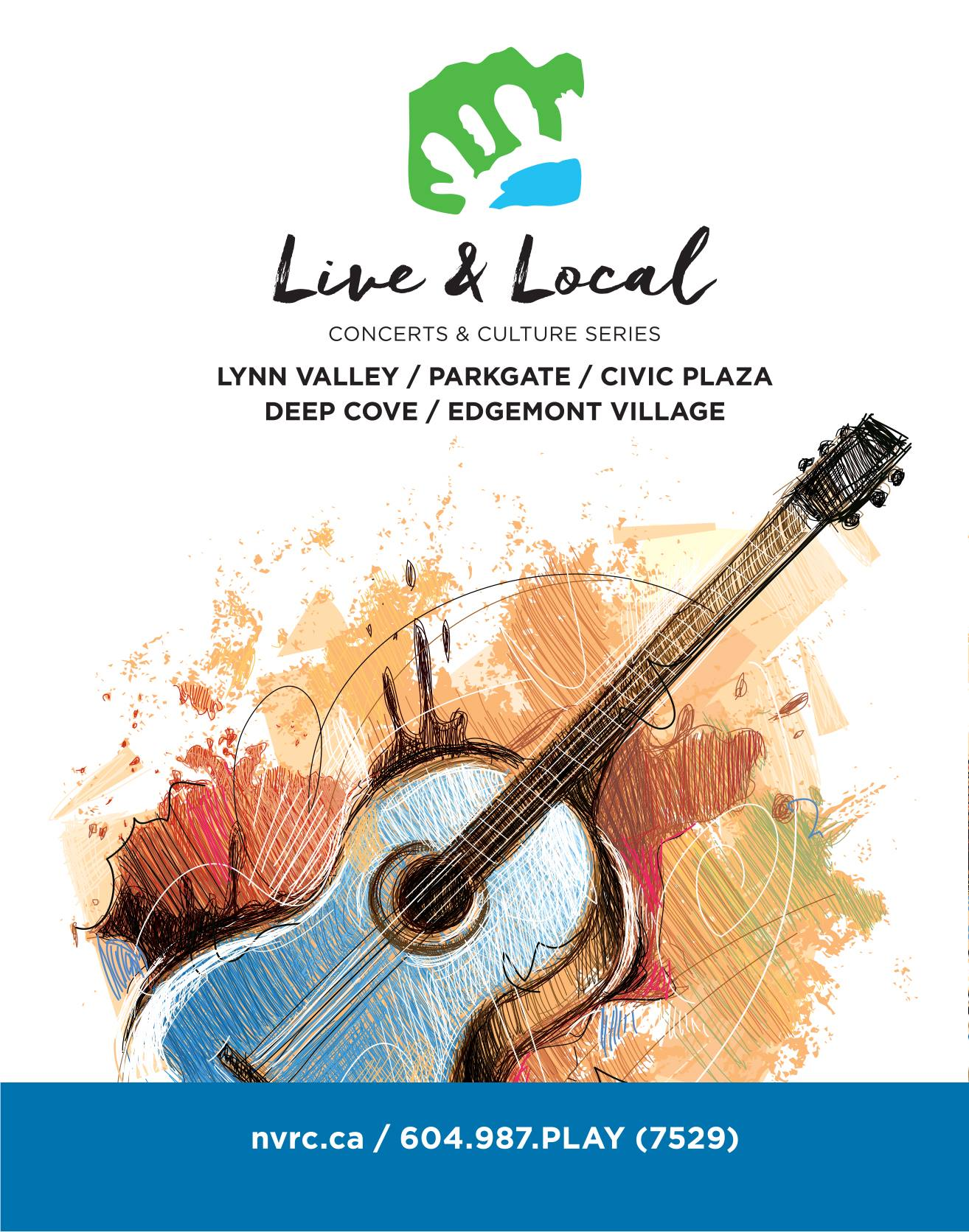 Live & Local Concerts & Culture Series North Vancouver
