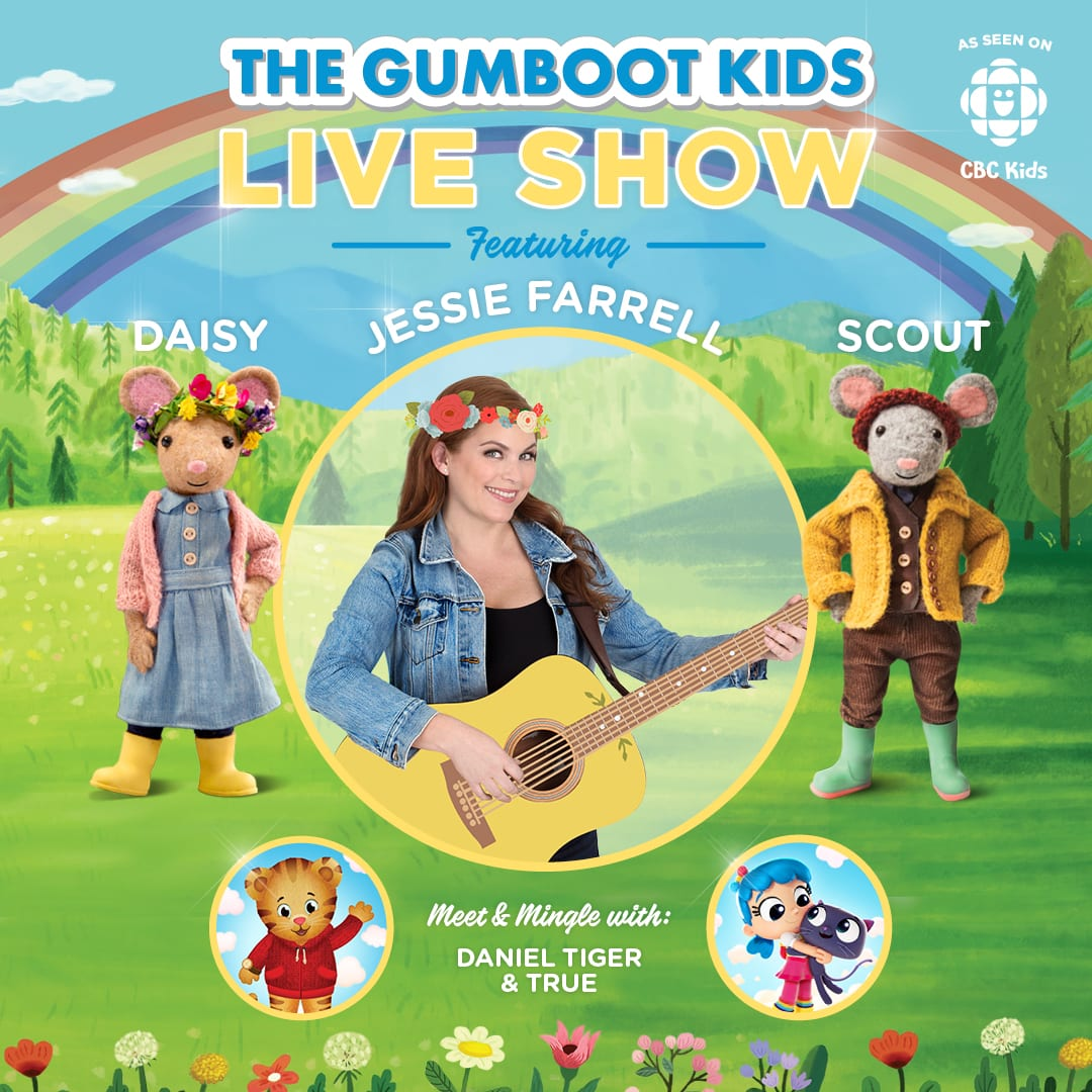 Gumboot Kids Live Show North Vancouver