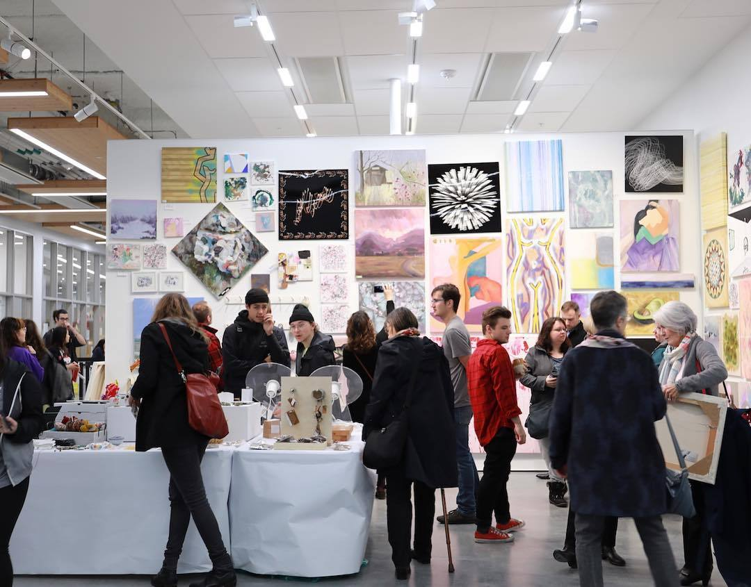 Emily Carr University's Legendary Student Art Sale