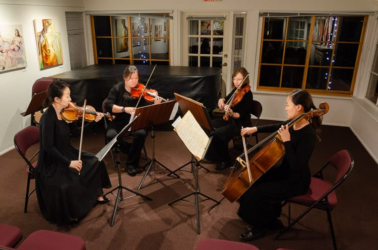Pro Nova Ensemble plays Bloch, Herrmann and Glass Quartet No. 5