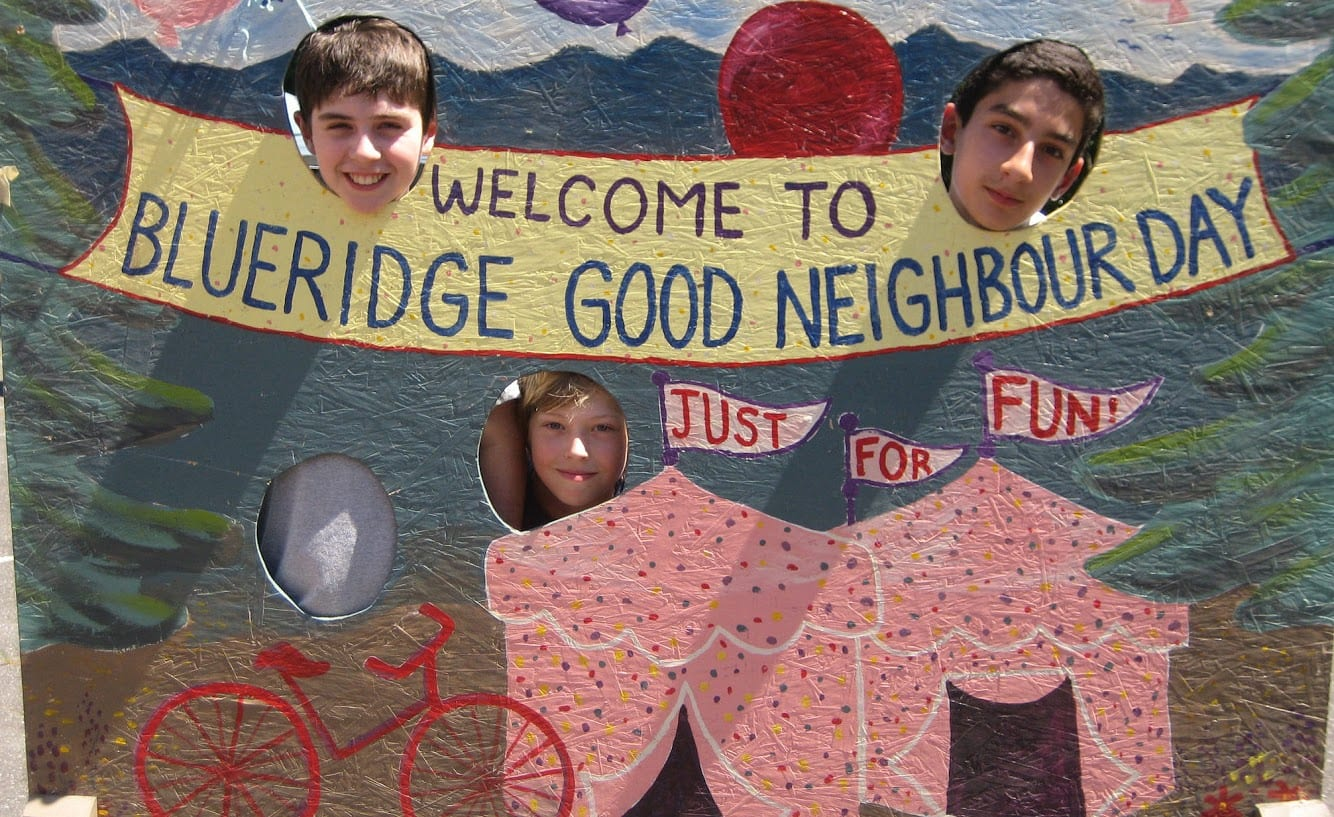 Blueridge Good Neighbour Day