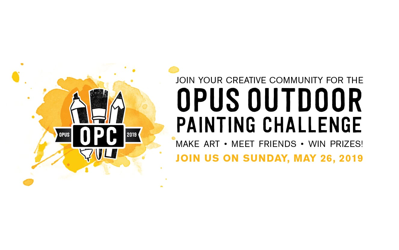 Opus Outdoor Painting Challenge