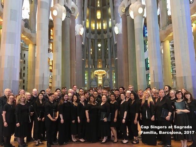 Cap Singers Farewell Concert