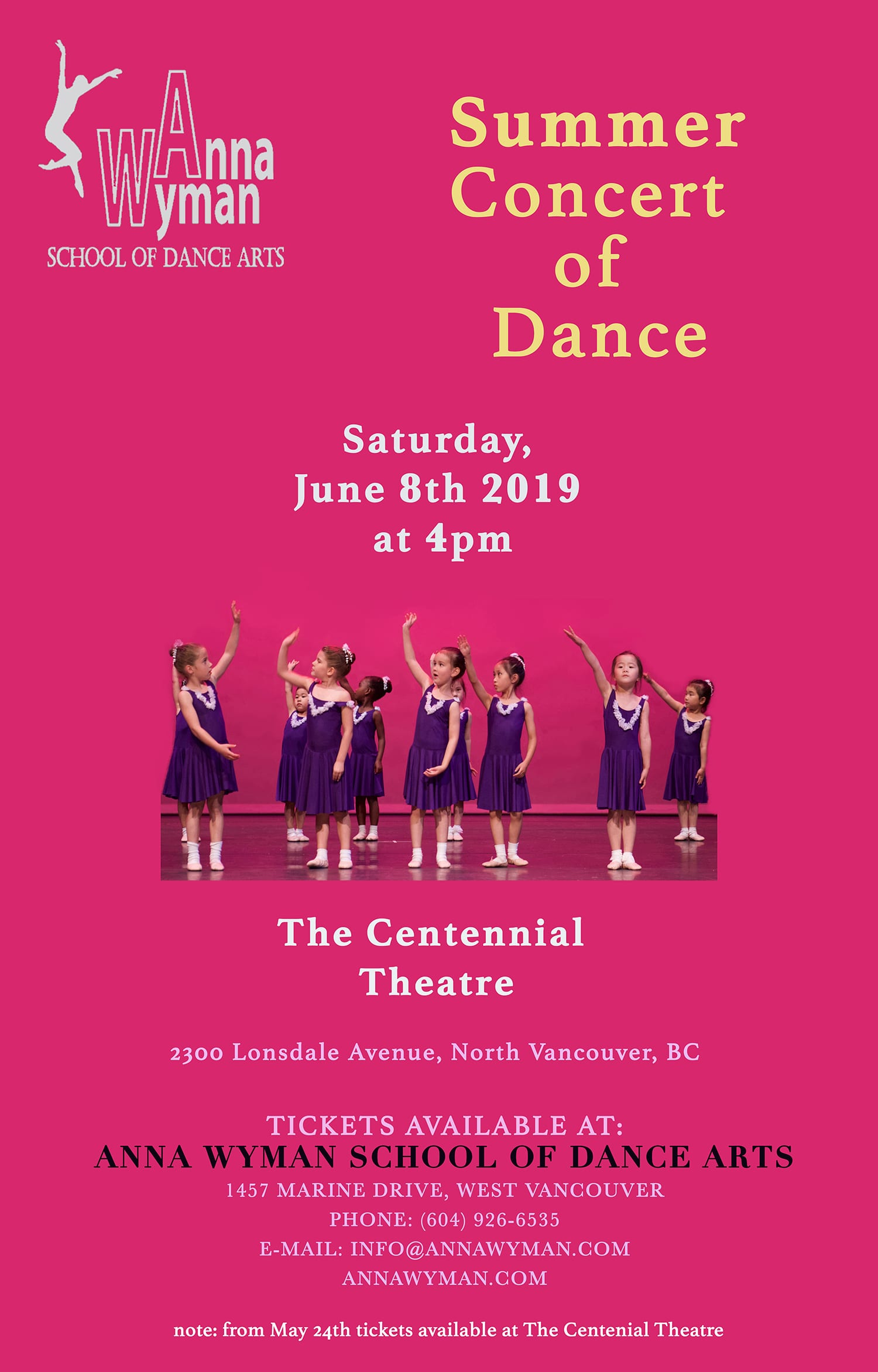 Summer Concert of Dance 2019
