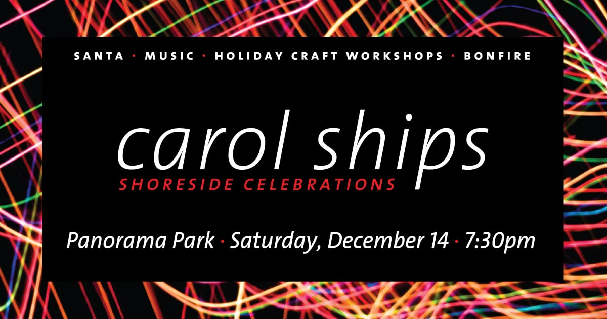 Carol Ships Shoreside Celebration