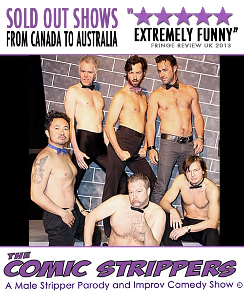THE COMIC STRIPPERS! NORTH VANCOUVER