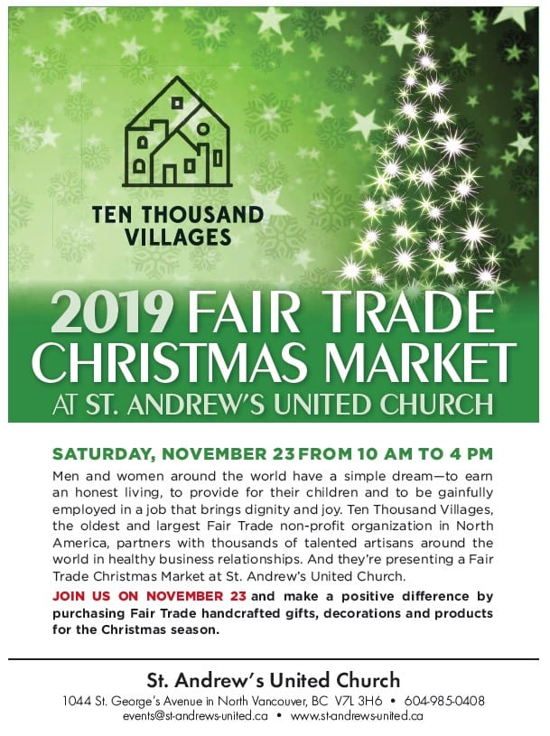 Fair Trade Christmas Market